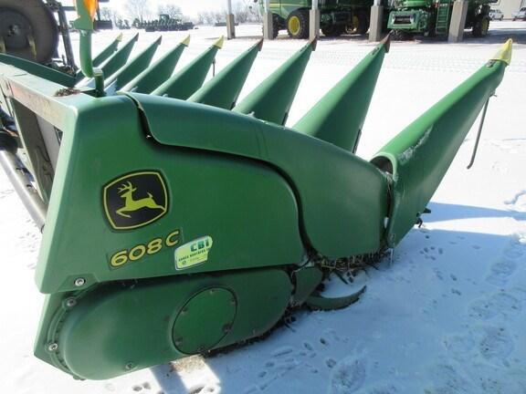 2014 John Deere 608C StalkMaster Header-Corn For Sale