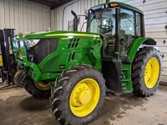 Tractor - Row Crop For Sale 2018 John Deere 6145M , 145 HP
