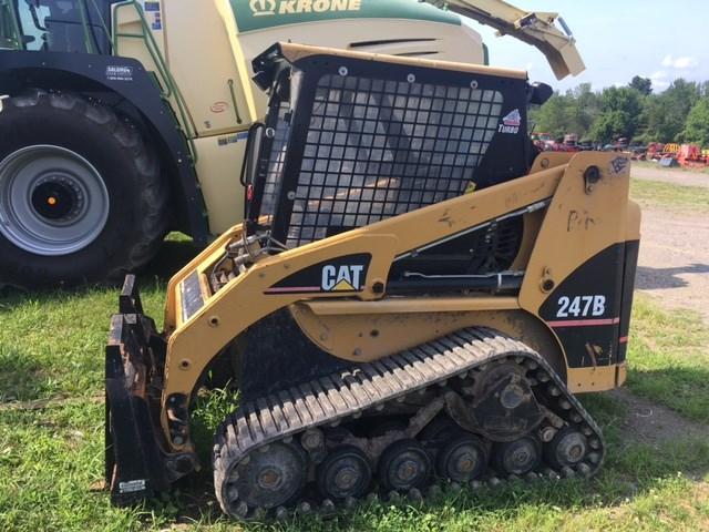 Caterpillar 247B Skid Steer-Track For Sale