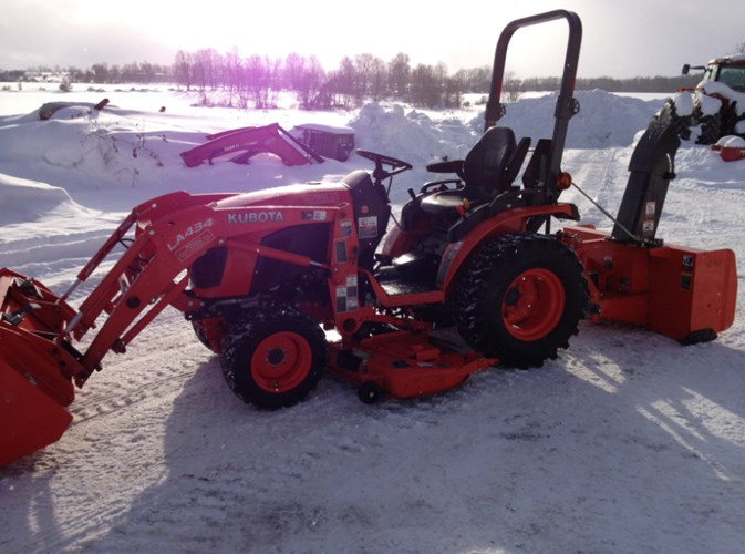 2018 Kubota B2601HSD Tractor - Compact Utility For Sale