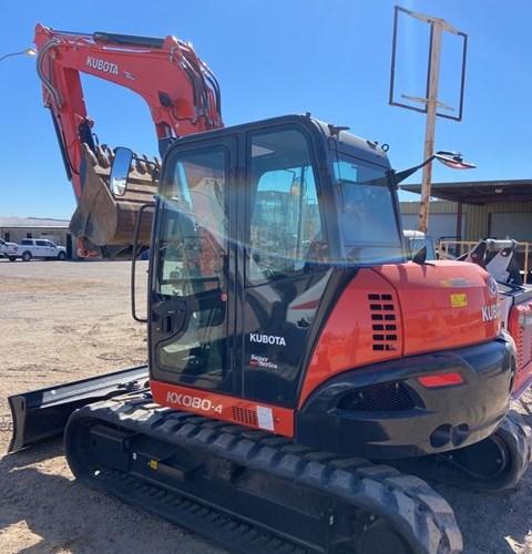 Kubota KX080-4SR3A Excavator-Track