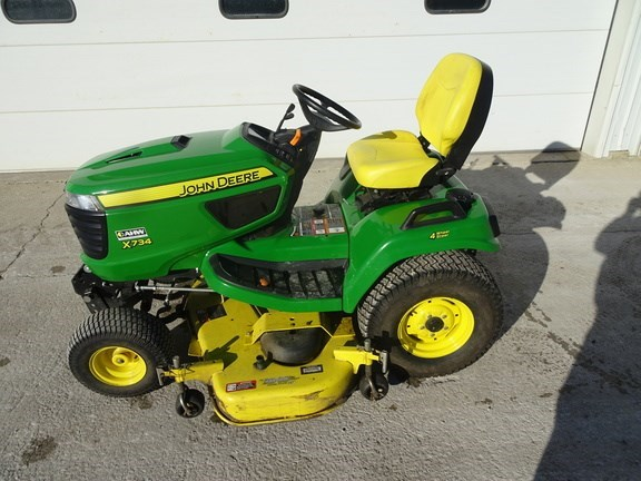 2016 John Deere X734 Riding Mower For Sale