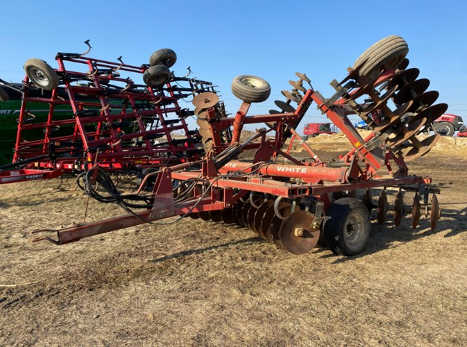 White 271-19' Disk Harrow For Sale
