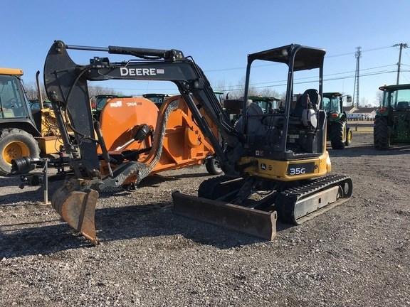 2017 John Deere 35G Excavator-Mini For Sale
