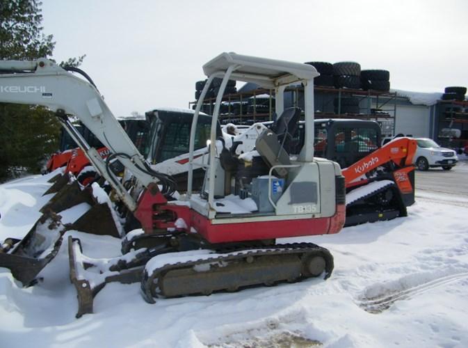 Takeuchi TB135 Excavator-Mini For Sale