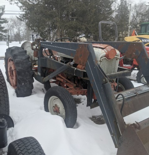 1958 Ford 841 Tractor For Sale