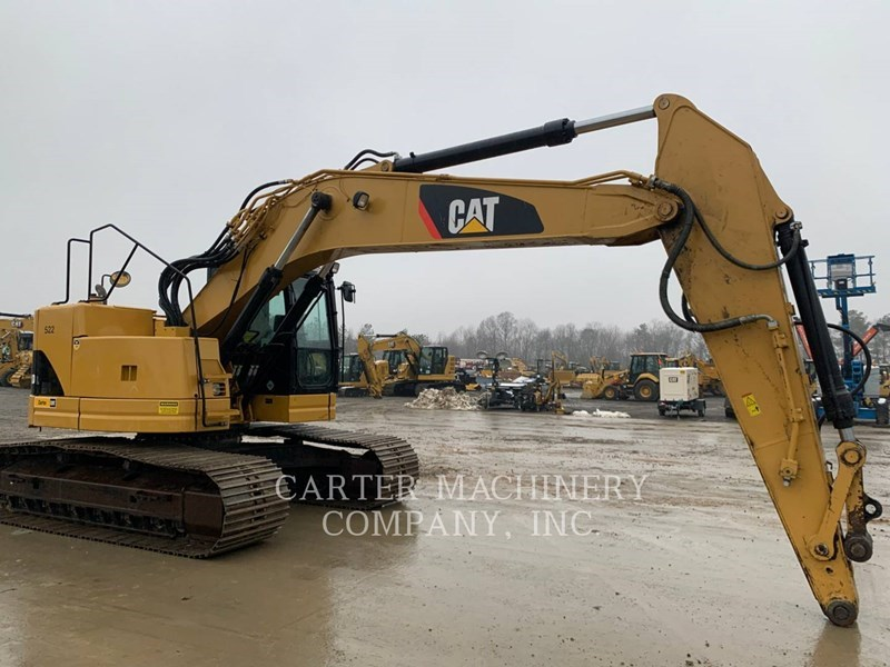 2015 Caterpillar 321DLCR Image 4