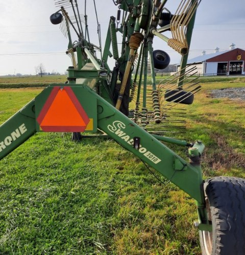 Krone SW1010 Hay Rake-Rotary For Sale