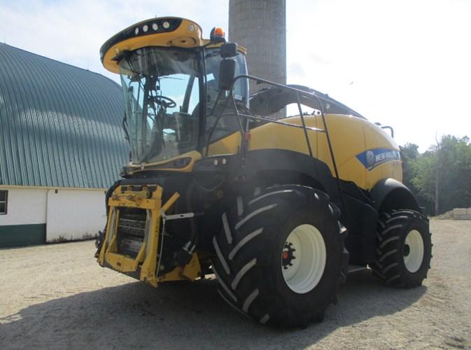 2017 New Holland FR850 Forage Harvester-Self Propelled For Sale