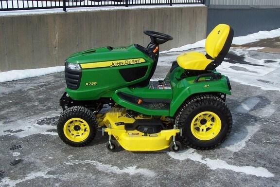 2020 John Deere X758 Riding Mower For Sale