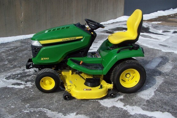 2020 John Deere X590 Riding Mower For Sale