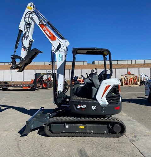 Bobcat E42 Excavator-Track