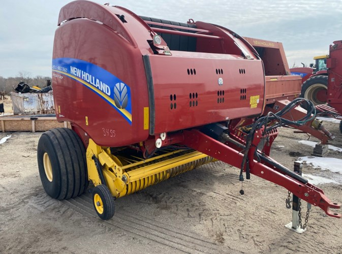 2014 New Holland RB560 Baler-Round For Sale