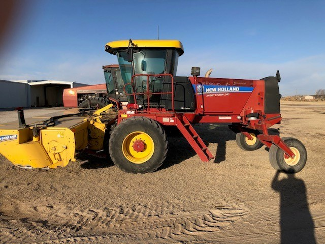 2013 New Holland SPEEDROWER 240 Windrower-Self Propelled For Sale
