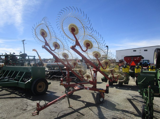 H & S V12 Hay Rake-Wheel For Sale