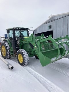 Tractor - Utility For Sale 2019 John Deere 6130R , 130 HP