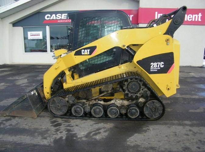 2011 Caterpillar 287C Skid Steer-Track For Sale