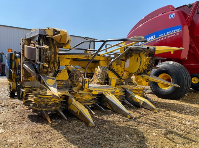 New Holland 420FI Forage Head-Rotary For Sale