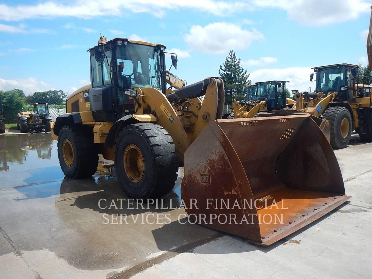 2017 Caterpillar 938M Image 2