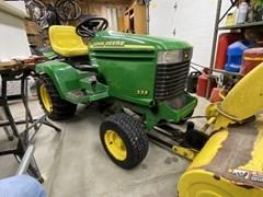 Lawn Mower For Sale 2000 John Deere 335 , 20 HP