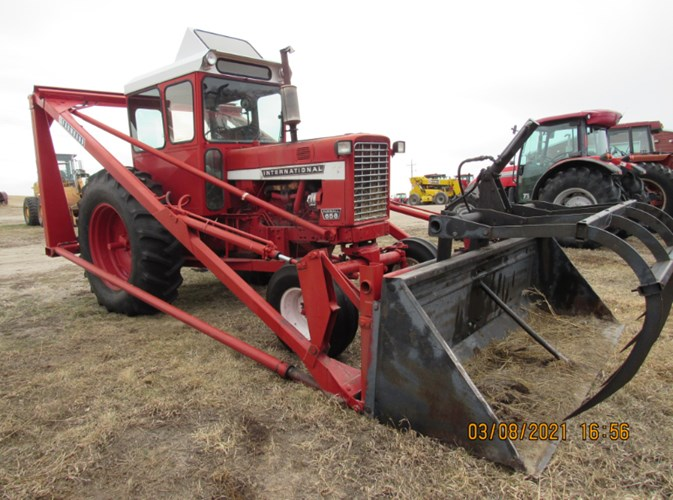 International 656 Hydro Tractor For Sale
