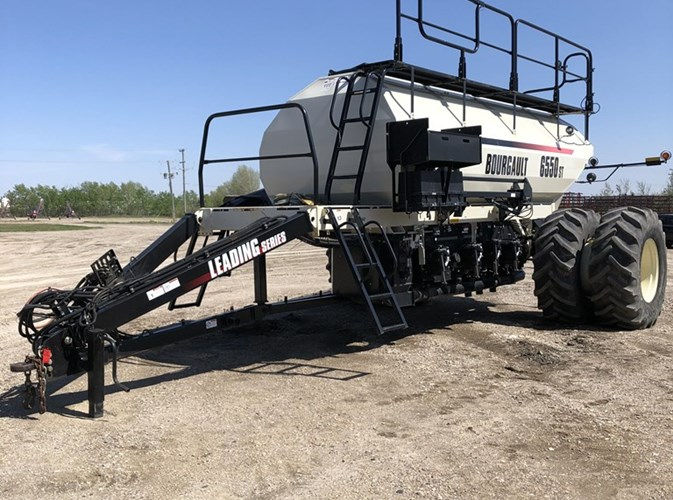 2013 Bourgault L6550 Air Seeder For Sale