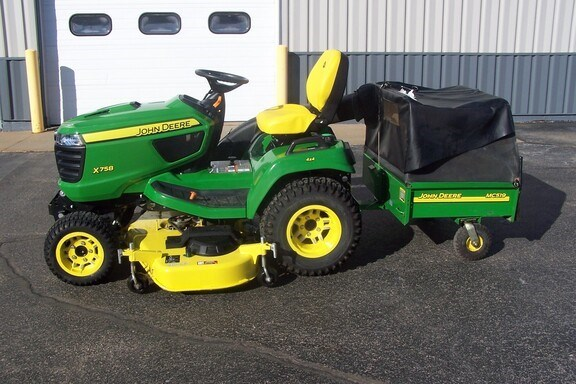 2020 John Deere X758 Riding Mower For Sale
