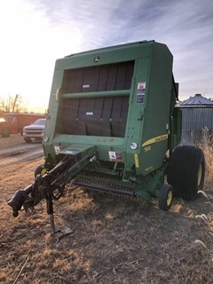 Baler-Round For Sale 2009 John Deere 568