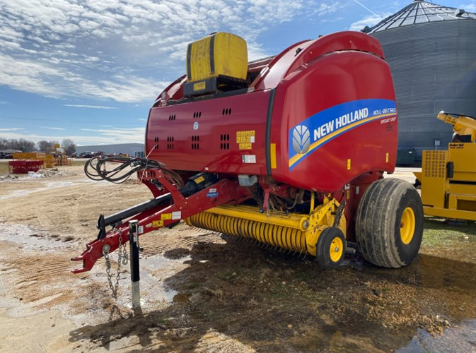 2018 New Holland RB560 Baler-Round For Sale