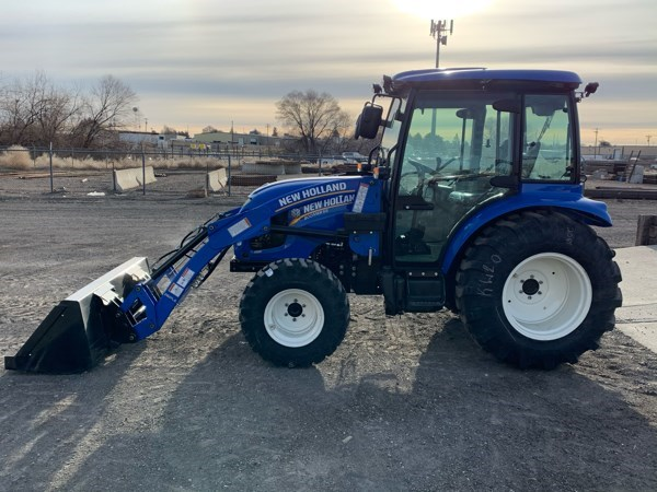 2021 New Holland BOOMER 55 T4B Tractor - Compact Utility For Sale