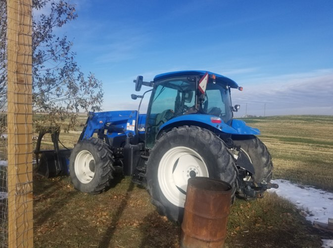 2007 New Holland TS115A Tractor - Utility For Sale