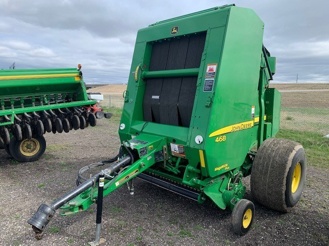 2011 John Deere 468 Baler-Round For Sale