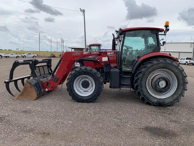 2015 Case IH MAXXUM 125 Tractor For Sale