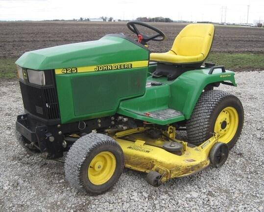 2000 John Deere 425 Riding Mower For Sale