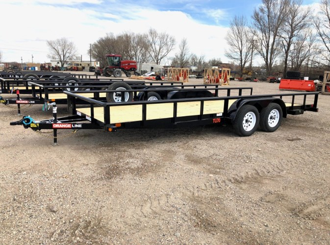 2021 Orange Line TU70-20 Utility Trailer For Sale