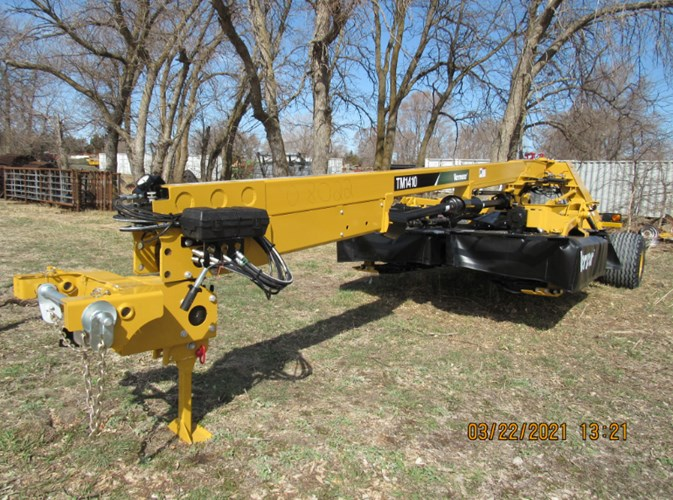 2021 Vermeer TM1410 Disc Mower For Sale