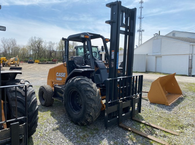 Case 588H Lift Truck/Fork Lift-Electric For Sale