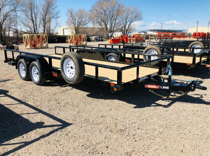 2021 Orange Line TU70-18 Utility Trailer For Sale
