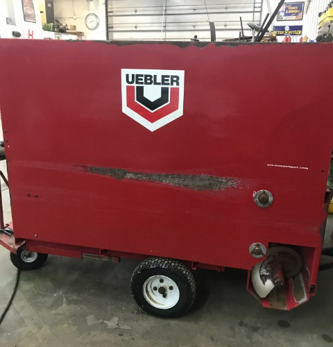 2017 Uebler 812 Feed Cart For Sale