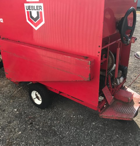 2016 Uebler 812 Feed Cart For Sale