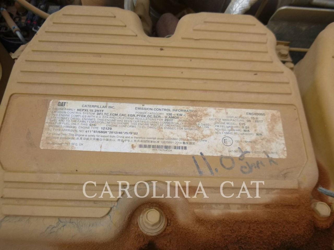 2018 Caterpillar 740 GC Image 8