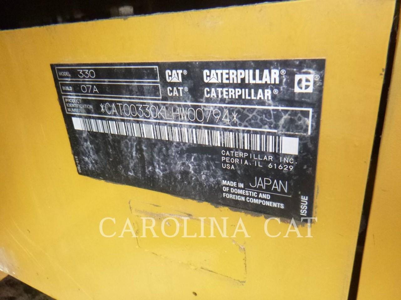 2019 Caterpillar 330 Image 6