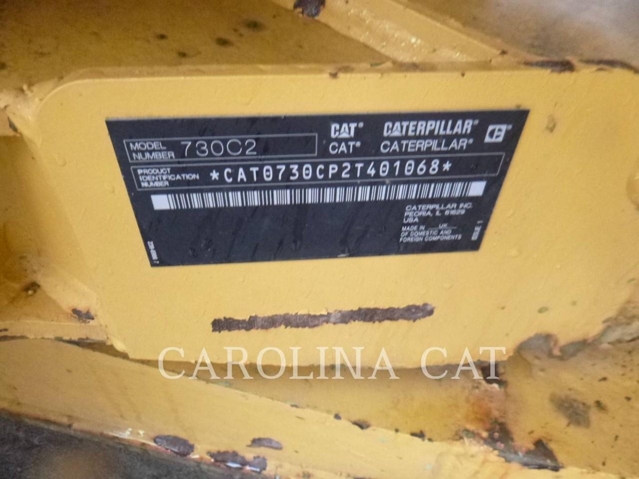 2018 Caterpillar 730C2 TG Image 6