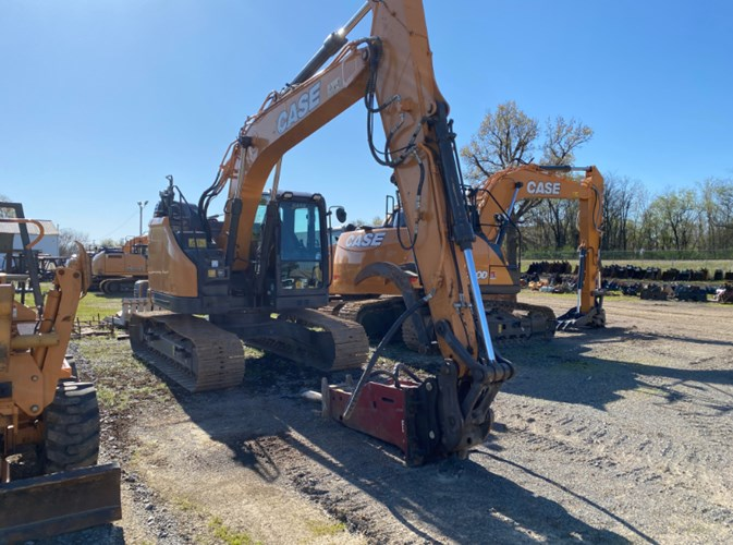 2018 Case CX145D Excavator-Track For Sale