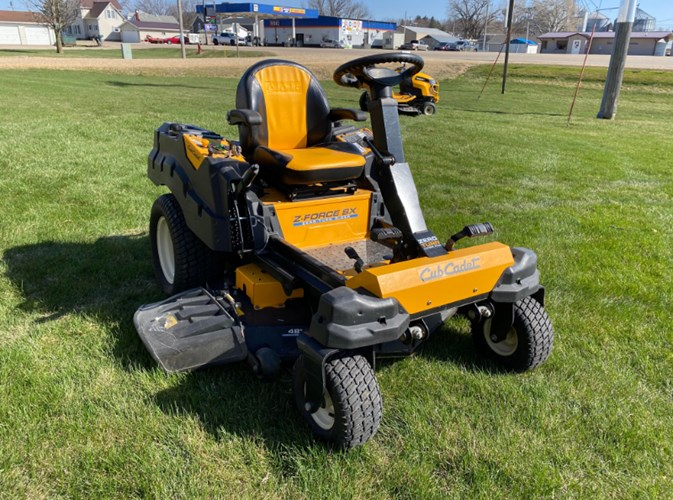 Cub Cadet ZFORCE SX48 Zero Turn Mower For Sale