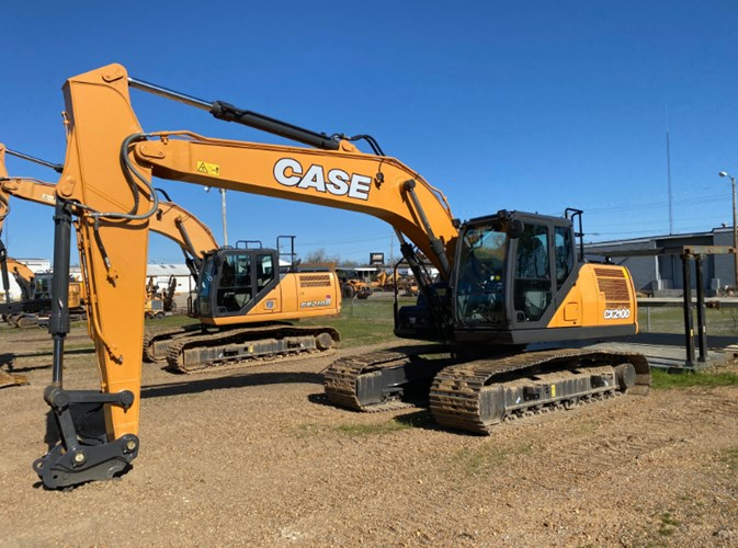 2021 Case CX210D Excavator-Track For Sale