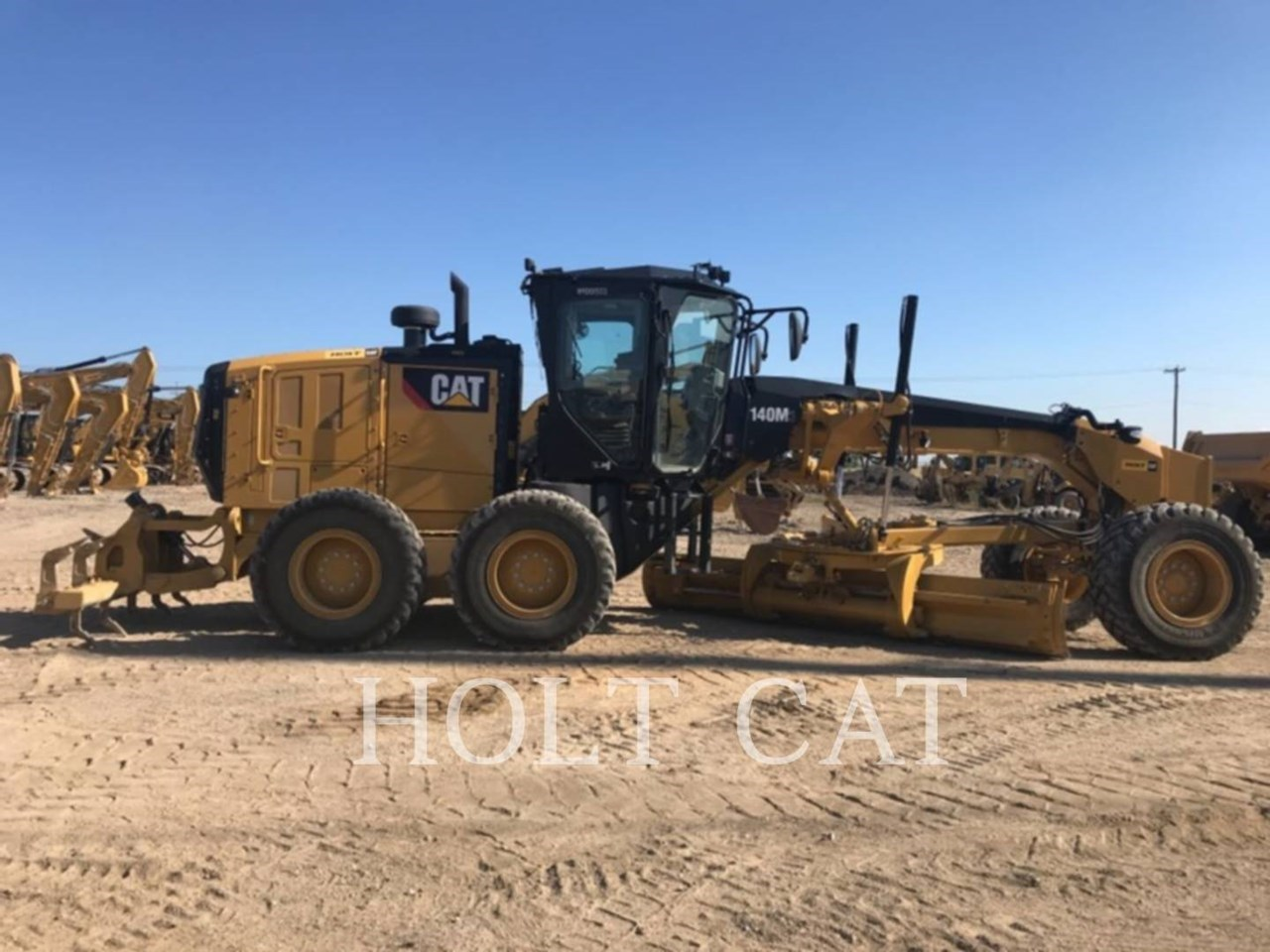 2019 Caterpillar 140M3 Image 3