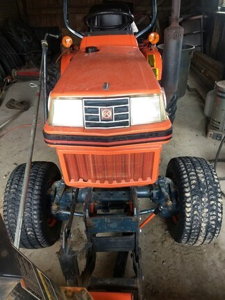 1991 Kubota B1550 Tractor - Compact Utility For Sale