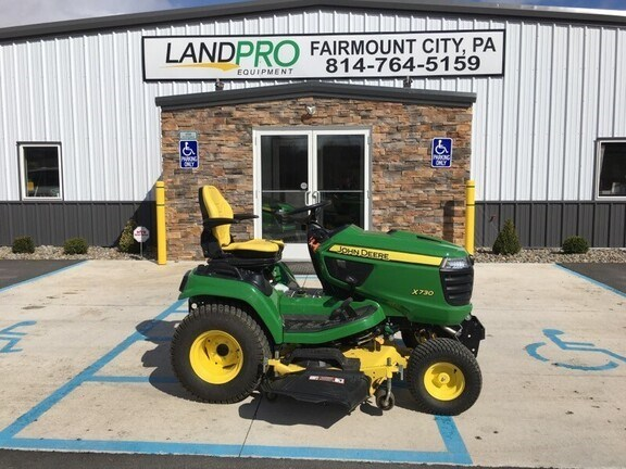 2018 John Deere X730 Lawn Mower For Sale