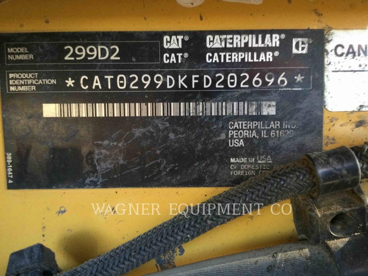 2017 Caterpillar 299D2 Image 6